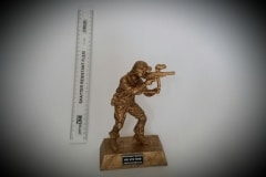 Product: Army Figure Gold